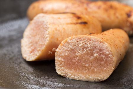 walleye: Baked cod roe
