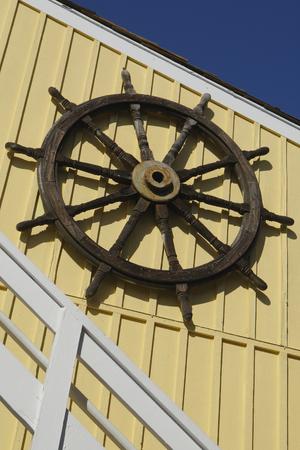 Of Marina del Rey shop wall Standard-Bild - 89830600