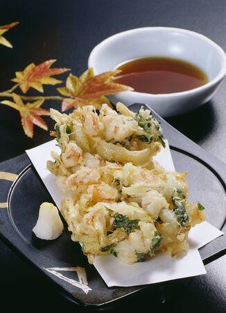 魚介類の天ぷら