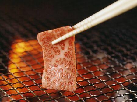 roast meat: Grilled meat