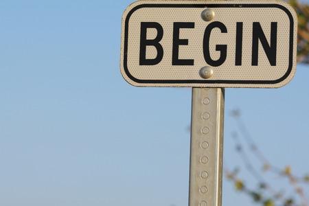 empezar: EMPEZAR signo