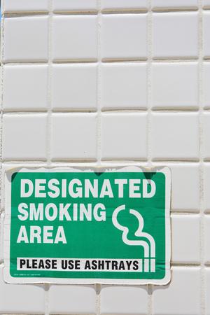 superficie: Zona de fumadores