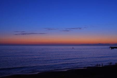 Redondo Beach Sunset Archivio Fotografico - 47254598