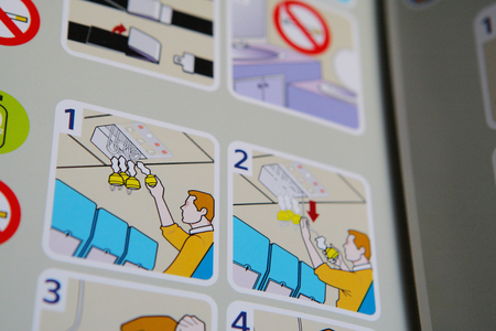 safety check: Safety check guidance of the airplane