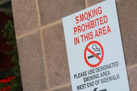 non  smoking: Sign Stock Photo