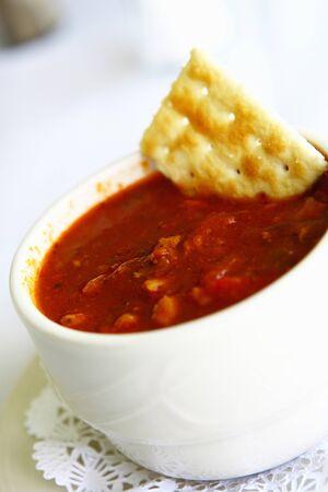chowder: Conch chowder