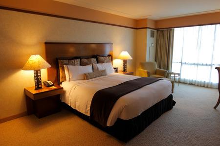 Hotel Interior Standard-Bild