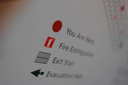 emergency exit: Emergency exit guidance