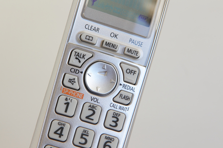 touchtone: Cordless phone Stock Photo