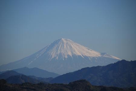 lingering: Morning of Mt. Fuji Stock Photo