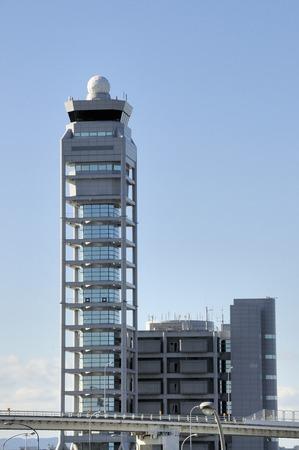 control tower: Kansai International Airport control tower