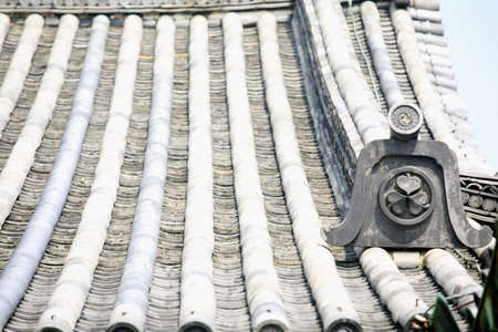 cultural artifacts: Tile roof