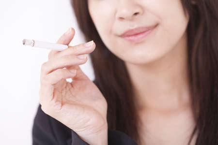 women smoking: Women smoking Stock Photo