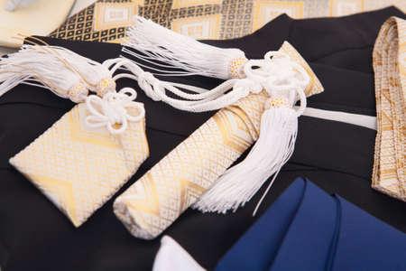 kimono: Kimono set Stock Photo