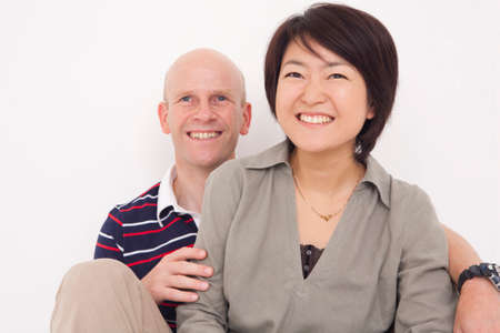 foreigner: Couple Stock Photo