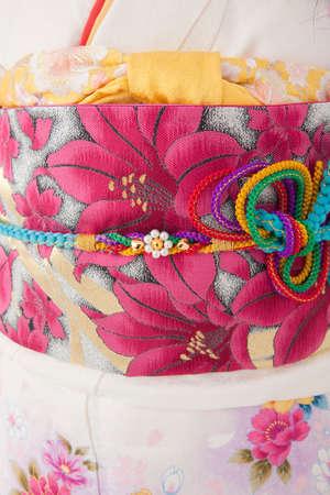 banding: Obi kimono and banding