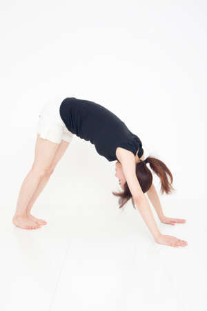 pliable: Woman stretching