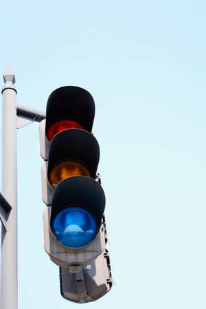 advances: Signal and sky Stock Photo