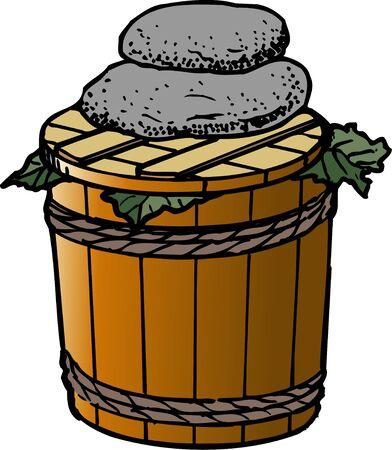 pickles: Pickles tub
