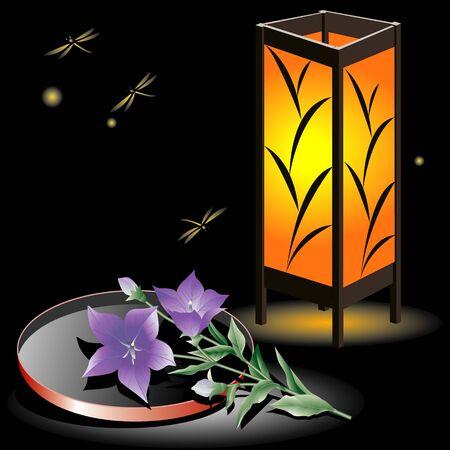 bellflower: Bellflower and lantern