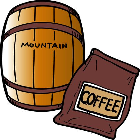 material: Coffee material