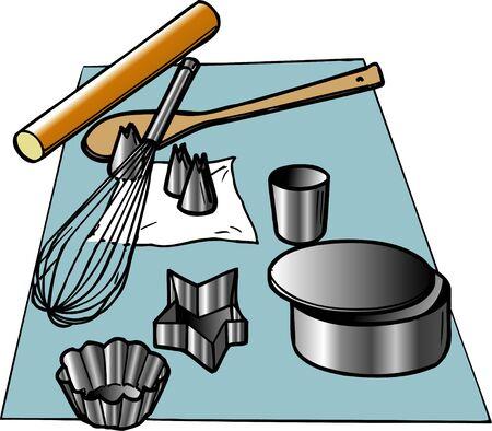 equipment: Cake-making equipment