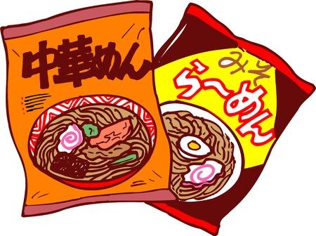 noodles: Instant noodles