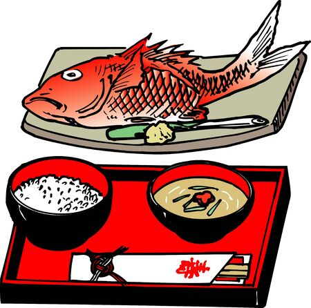 bream: Sea bream celebrate Zen Stock Photo