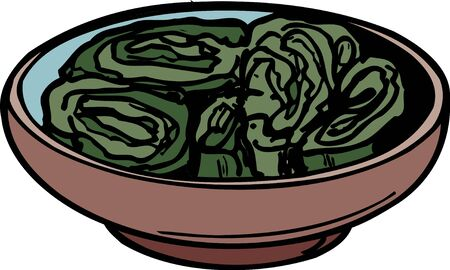 pickles: Pickled Chinese cabbage
