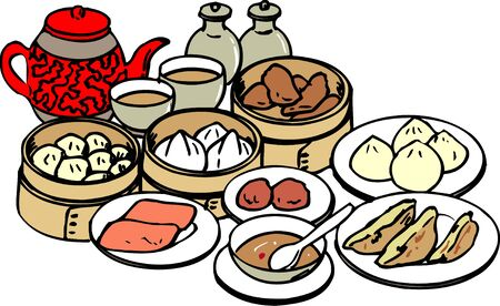 dim sum: Dim Sum Dim Sum Stock Photo