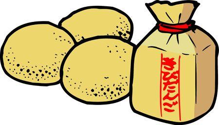 dumpling: Millet dumpling