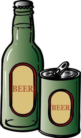 tincan: Beer Stock Photo
