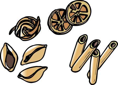 macaroni: Macaroni Stock Photo