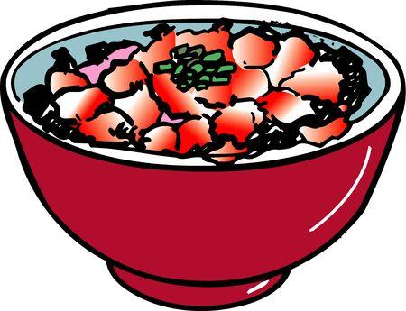 bowl: Nakaochi bowl