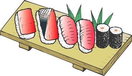 gripping: Edo-style sushi