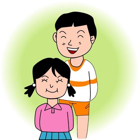 asian friends: Friend