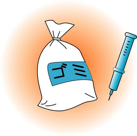 medical waste: Use syringes