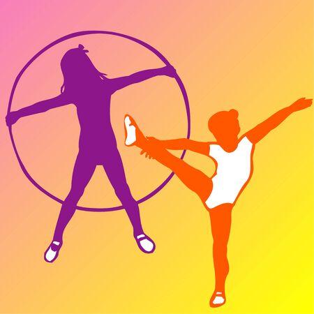 gimnasia ritmica: Gimnasia rítmica