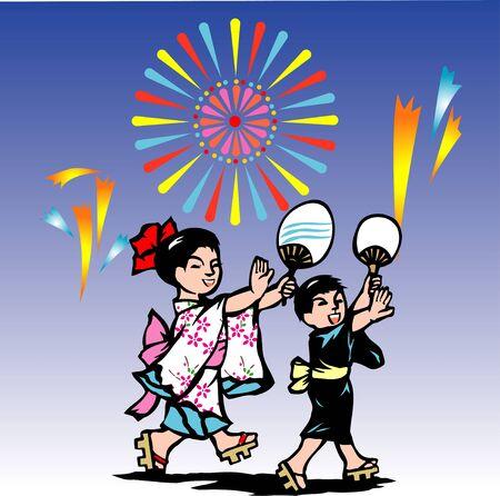 yukata: The Bon Festival dance