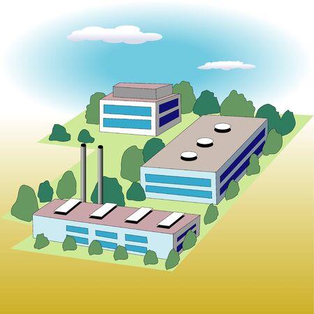 smokestack: Factory