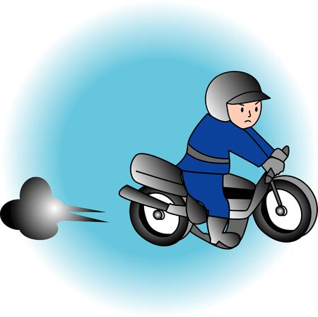 motorcycle officer: Motorcycle police