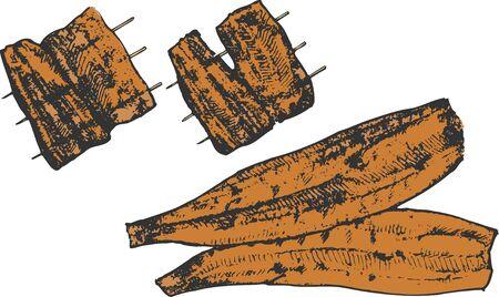 eel: Grilled eel