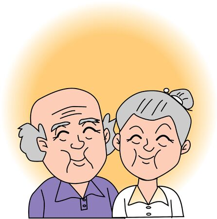 older couple: The old couple Stock Photo