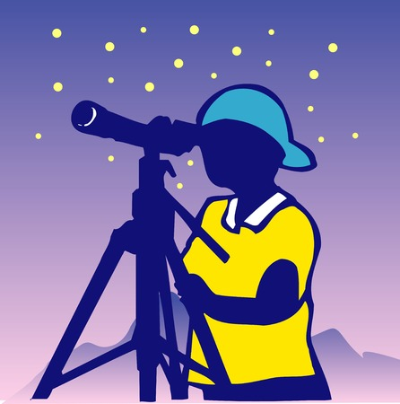 astronomical: Astronomical observations Stock Photo