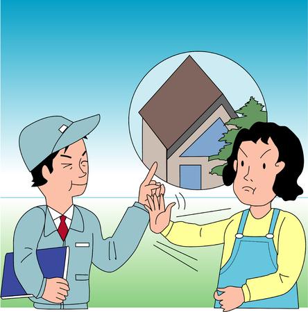 solicitation: Unscrupulous door-to-door sales