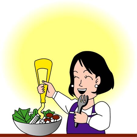 salad dressing: Housewife