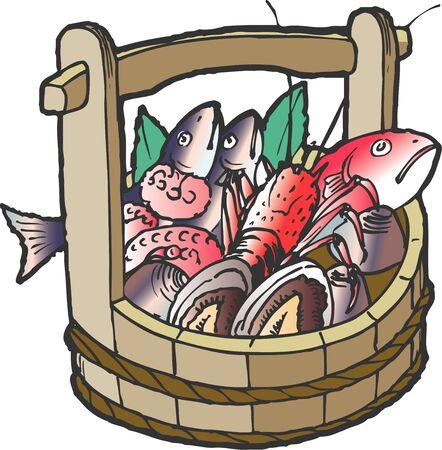 魚、シーフード 写真素材
