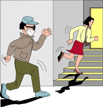 behavior: Stalking behavior