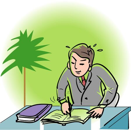 busyness: Businessman Stock Photo