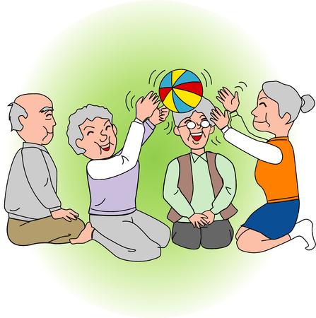 特別養護老人ホーム 写真素材 - 47412584